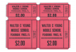#696 - Double Roll Ticket