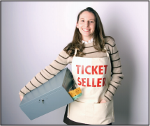 #197 - Ticket Seller Apron