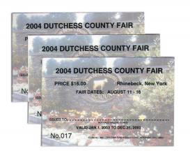 #268 - Digital Four Color Process Tickets